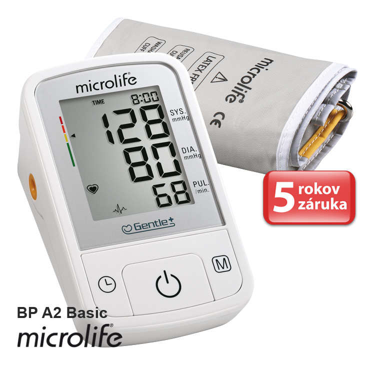 Tlakomer Microlife BP A2 Basic 3G